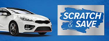 Scrach & Save promotion
