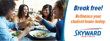 Refinance your student loan with Skyward