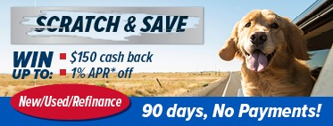 Scratch and Save Auto Promotion
