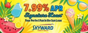 Fun in the sun signature loan