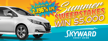 Auto Loan Summer Sweepstakes